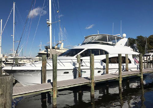 63' Hatteras 63 Raised Pilothouse Motor Yacht